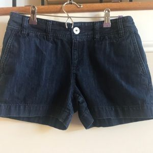 LOFT denim shorts size 4